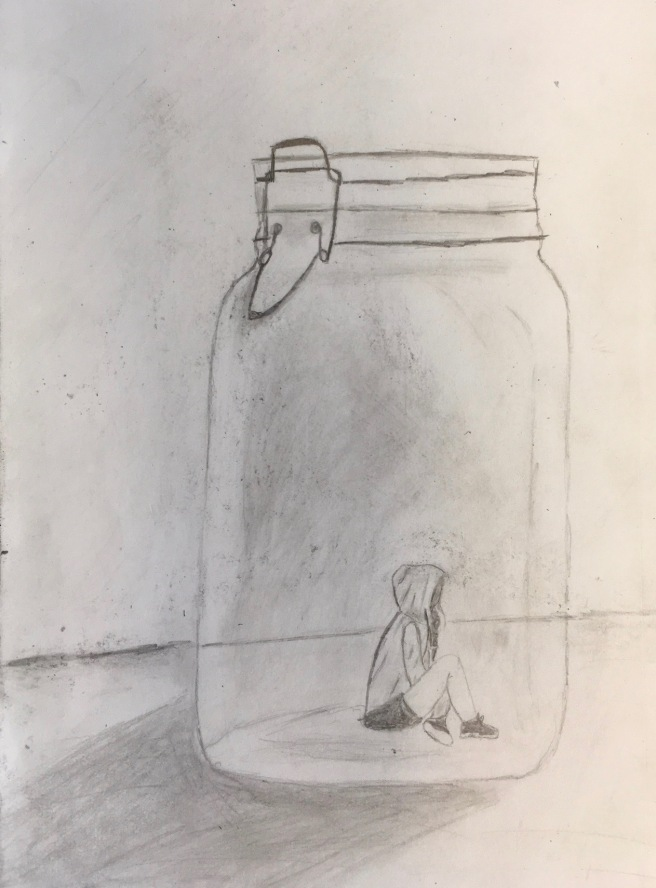 girl in jar