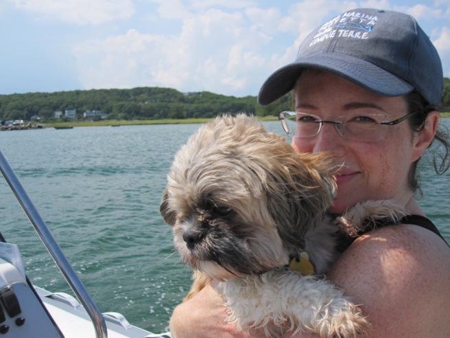 My boating buddy