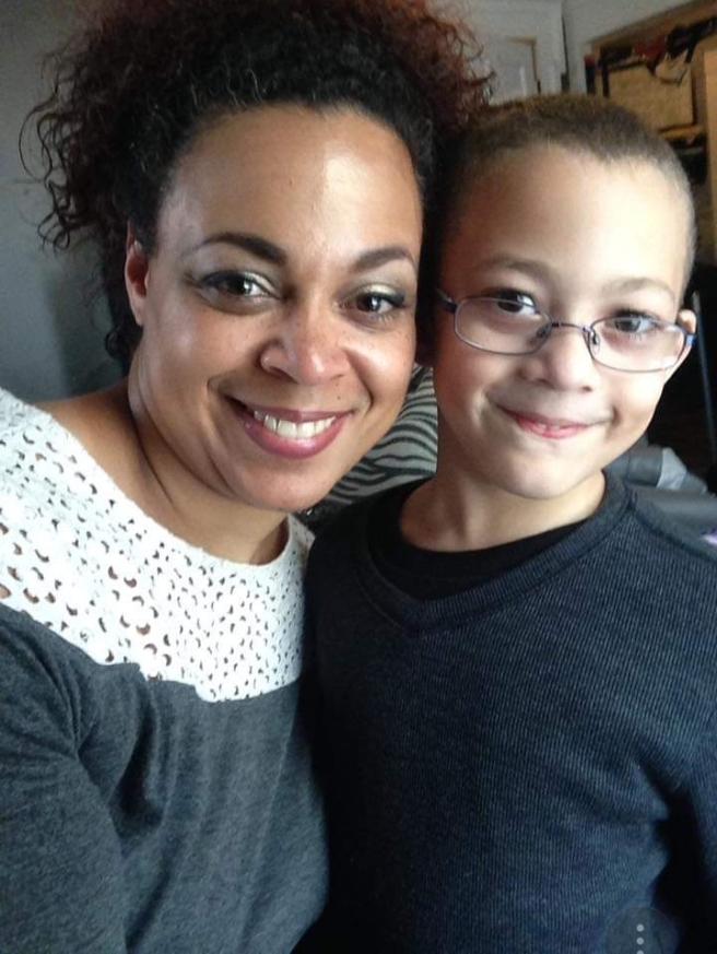 maleeka and son