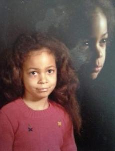 maleeka as child